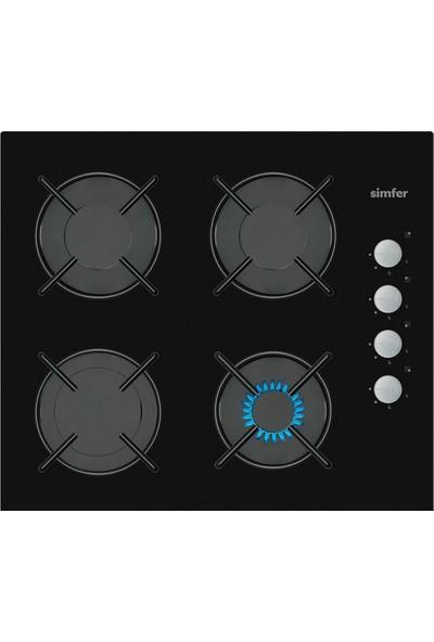 Simfer Siyah Cam Ankastre Set (7326 Fırın + 3500 Ocak + 8658 Davlumbaz)
