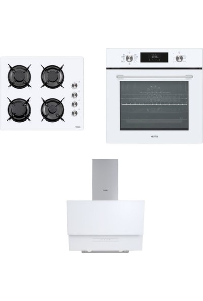 Vestel Eğik Beyaz Set 2 ( AO-6104 Yb -Af 8685 Yb -AD-6331 B)