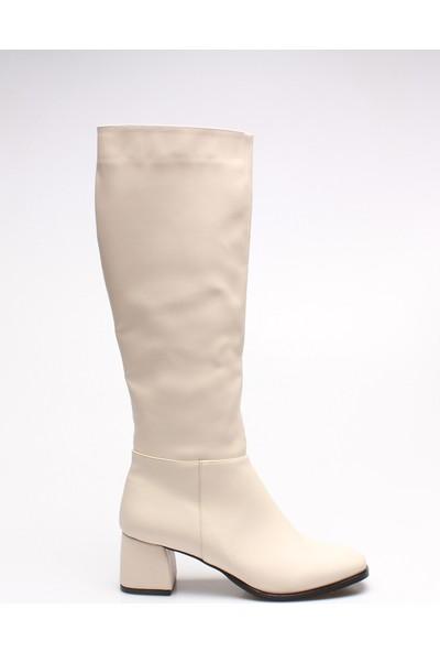 Rovigo Plus Kadın Ten Çizme