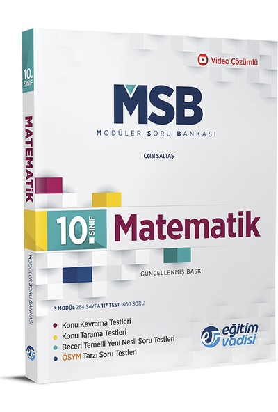 Eğitim Vadisi 10.Sınıf Matematik Modüler Soru Bankası
