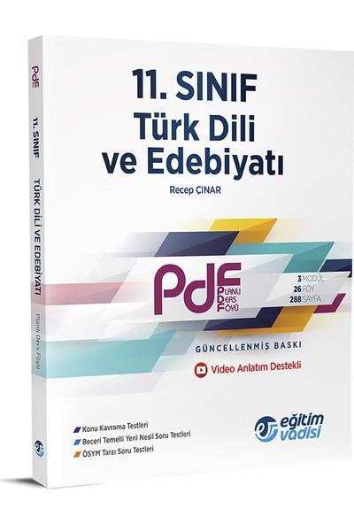 Eğitim Vadisi 11.Sınıf PDF Türk Dili Ve Edebiyatı Video Anlatım Destekli