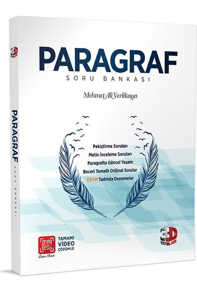 3D TYT Paragraf Soru Bankası Tamamı Video Çözümlü - Mehmet Ali Yerlikaya
