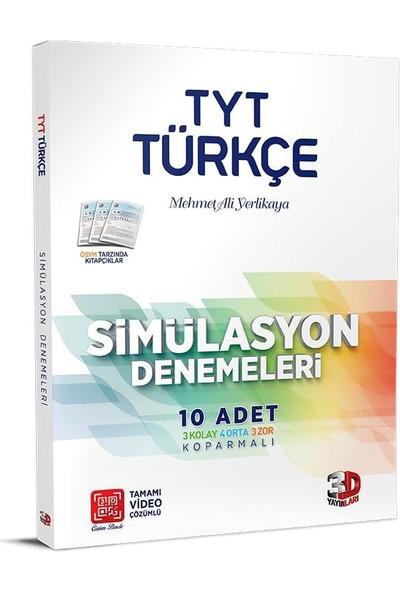 3D Yayınları TYT Türkçe 10'lu Simülasyon Denemeleri Tamamı Video Çözümlü