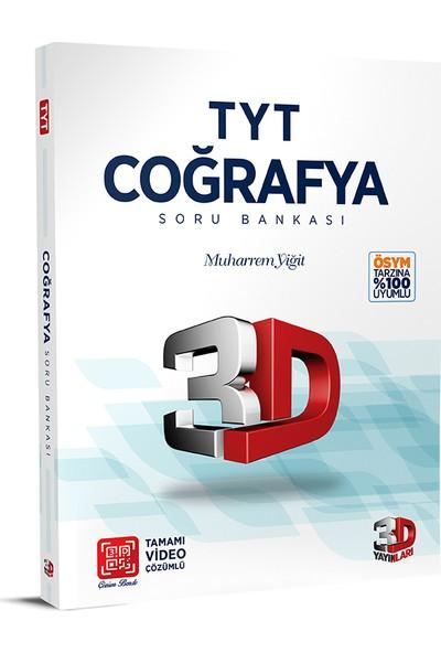 3D Yayınları TYT Coğrafya Soru Bankası Tamamı Video Çözümlü - Muharrem Yiğit
