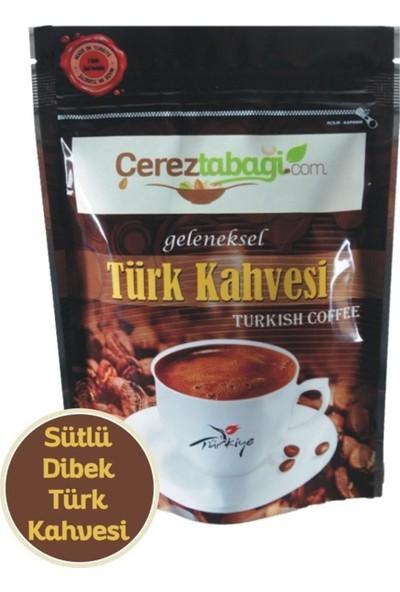 Çerez Tabağı Sütlü Dibek Türk Kahvesi - 250 gr