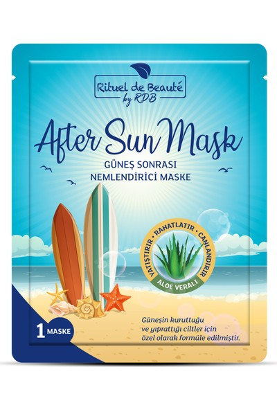 Rituel de Beaute After Sun Maske 5 Li
