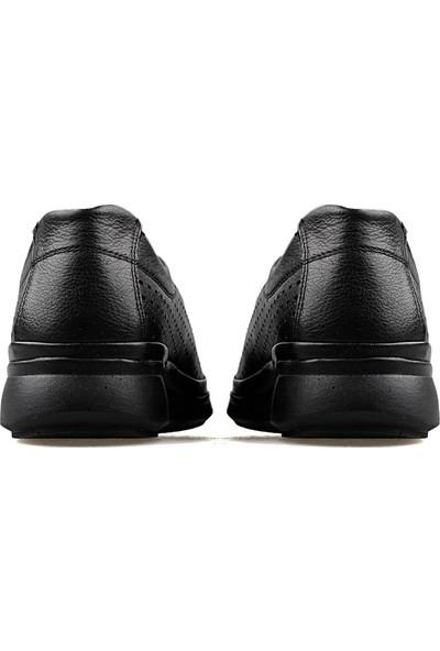 Castle Black 11906 1 Siyah Kadın Günlük Ayakkabı 11906 1 Siyah