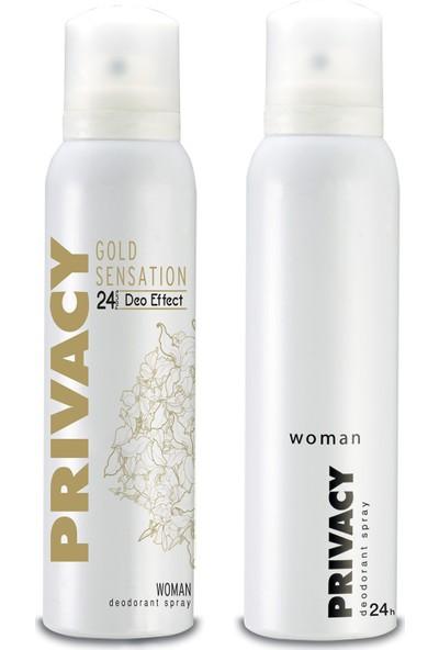 Privacy Gold Sensation & Privacy Kadın Deodorant Set