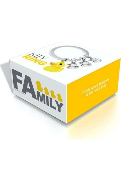 Metalmorphose Family Ördek Ailesi Anahtarlık