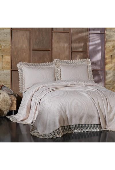 Bir Home Birhome Bianca Çift Kişilik Yatak Örtüsü