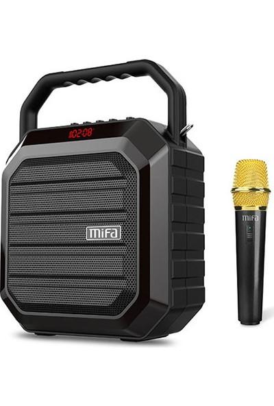 Mifa M100 Plus 15W Siyah Kablosuz Mikrofonlu Bluet