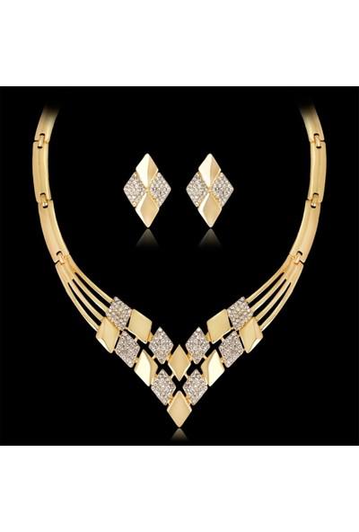 Takı Store 18 gr Altın Kaplama Takı Seti