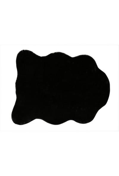 Döpland Despada Home Post Halı Siyah 70 x 90 cm