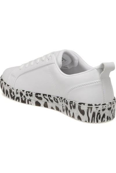 Lumberjack Anıme Beyaz Kadın Sneaker Ayakkabı