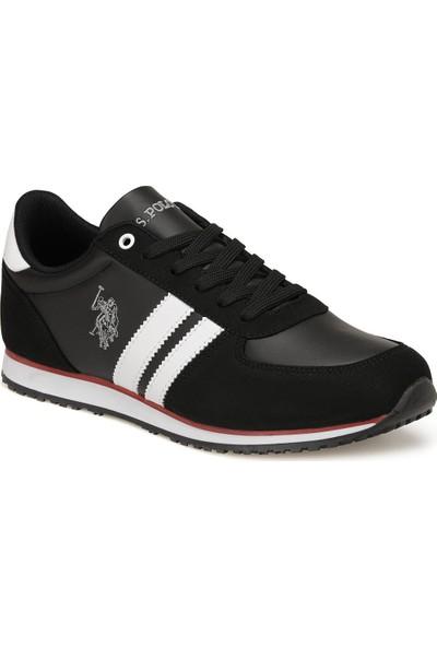 U.s. Polo Assn. Plus Wt 9pr Siyah Erkek Sneaker Ayakkabı