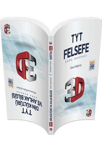 3D Yayınları TYT Din Kültürü Ve Felsefe Soru Bankası Tamamı Video Çözümlü Murat Doğmuş