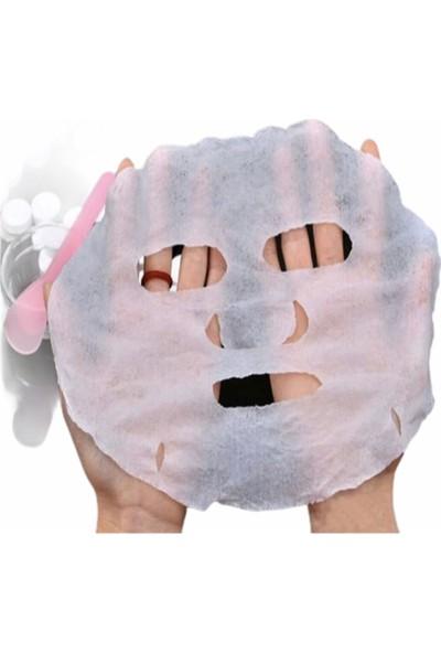 Rose Sıkıştırılmış Suda Şisen Maske 8'li