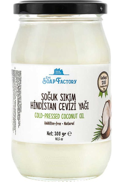 The Soap Factory Hindistan Cevizi Yağı 300 gr