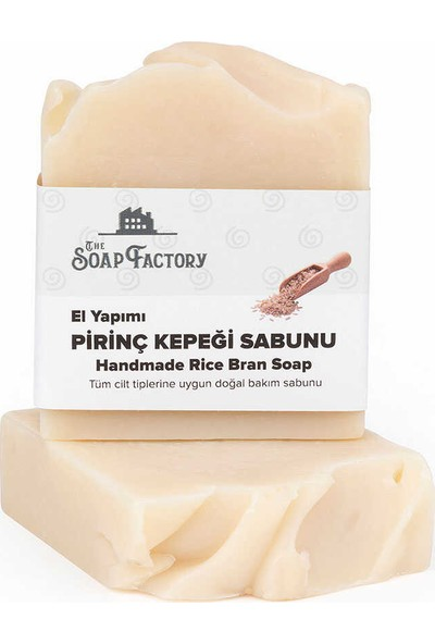 The Soap Factory Pirinç Sabunu 3 Adet - 3*100 gr.