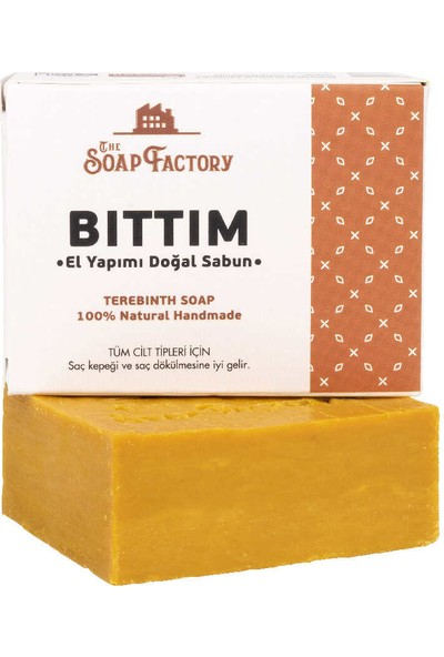 The Soap Factory El Yapımı Bitkisel Bıttım Sabunu 110 gr