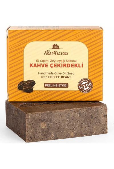 The Soap Factory Kahve Çekirdekli Zeytinyağı Sabunu 100 gr 3 Adet