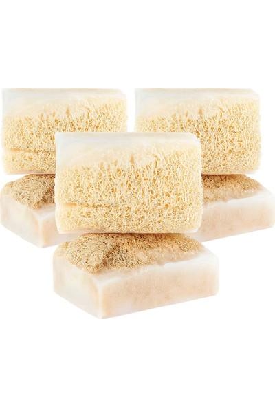 The Soap Factory Doğal Kabak Lifli Kaymaklı Sabun 100 gr 3 Adet