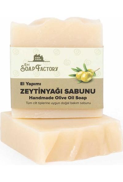 The Soap Factory El Yapımı Bitkisel Zeytinyağı Sabunu 5 x 100 gr (Toplam 5 Adet)