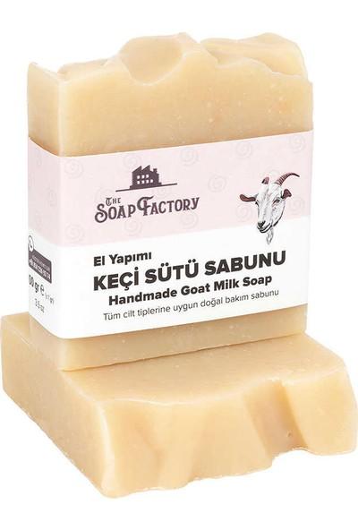 The Soap Factory El Yapımı Keçi Sütü Sabunu 3 x 100 gr (Toplam 3 Adet)