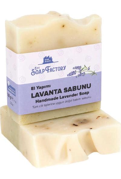 The Soap Factory El Yapımı Bitkisel Lavanta Sabunu 3 x 100 gr (Toplam 3 Adet)