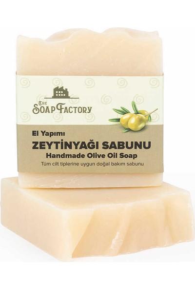 The Soap Factory El Yapımı Bitkisel Zeytinyağı Sabunu 3 x 100 gr (Toplam 3 Adet)