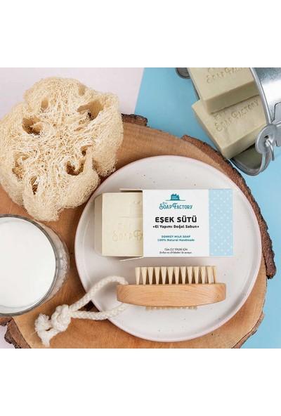 The Soap Factory El Yapımı Eşek Sütü Sabunu 5 x 110 gr (Toplam 5 Adet)