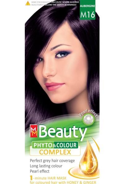 Mm Beauty Bitkisel Saç Boyası M16 Patlıcan