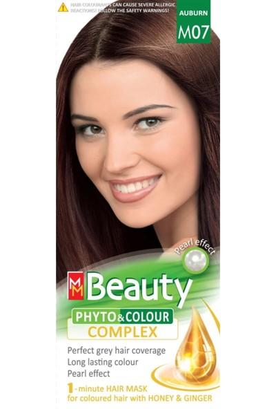 Mm Beauty Bitkisel Saç Boyası M07-Kestane