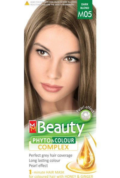 Mm Beauty Bitkisel Saç Boyası M05-KOYU Kumral