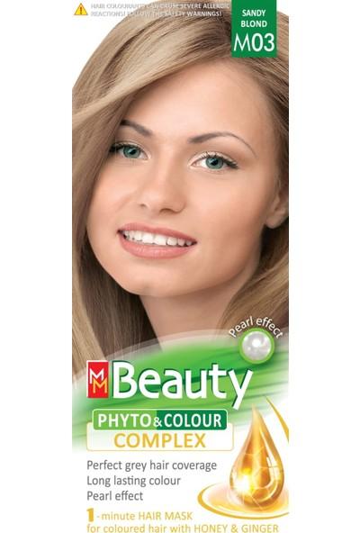 Mm Beauty Bitkisel Saç Boyası M03-KUMRAL Sarı