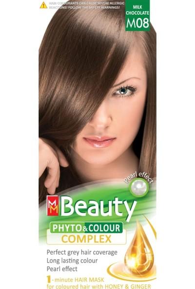 Mm Beauty Bitkisel Saç Boyası M08-SÜTLÜ Kahve