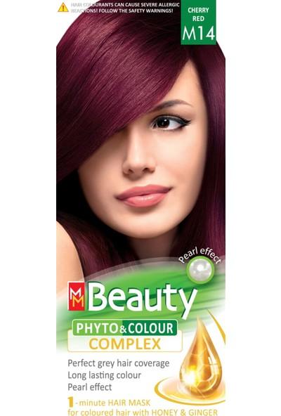 Mm Beauty Bitkisel Saç Boyası M14 Vişne Kızılı