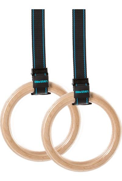 Livepro LP8123 Ahşap Crossfit-Jimnastik Halkası
