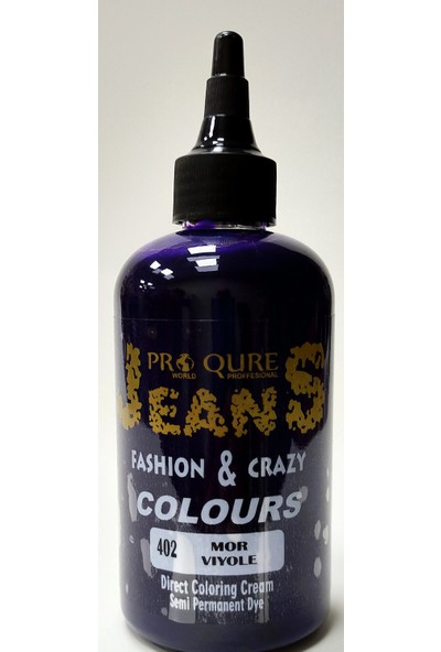 Proqure Jean Color Boya Mor 250 ml