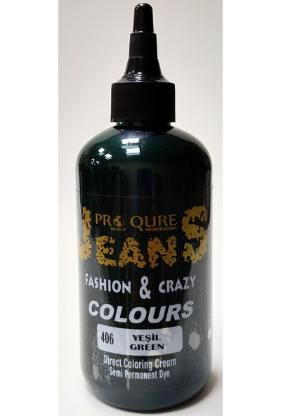 Proqure Jean Color Boya Yeşil 250 ml