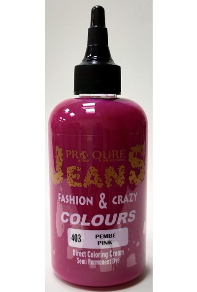Proqure Jean Color Boya Pembe 250 ml
