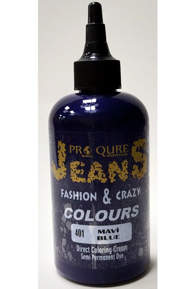 Proqure Jean Color Boya Mavi 250 ml