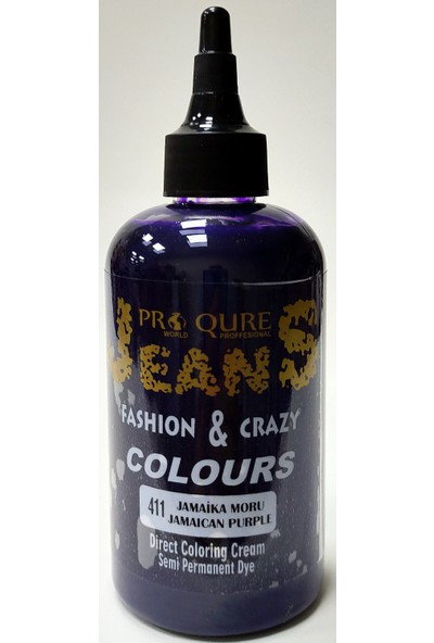 Proqure Jean Color Boya Jamaika Moru 250 ml