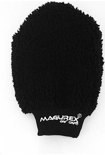 Magurex Mikrofiber Wax Cila ve Oto Yıkama Eldiveni Siyah