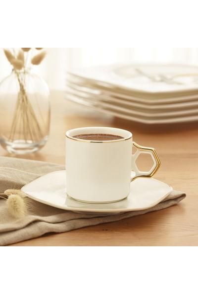 Karaca Mandala 6 Kişilik Kahve Fincan Takımı