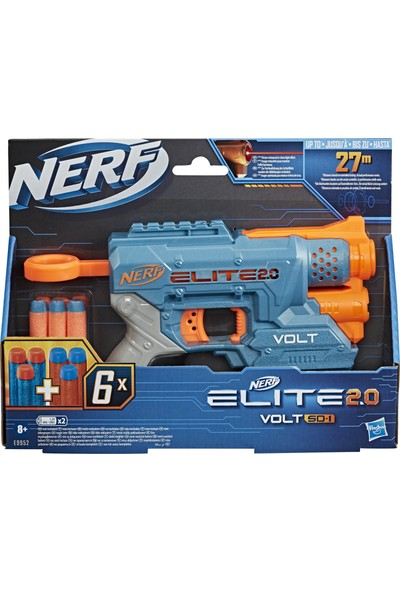 Nerf Elite 2.0 Volt SD-1 Dart Tabancası
