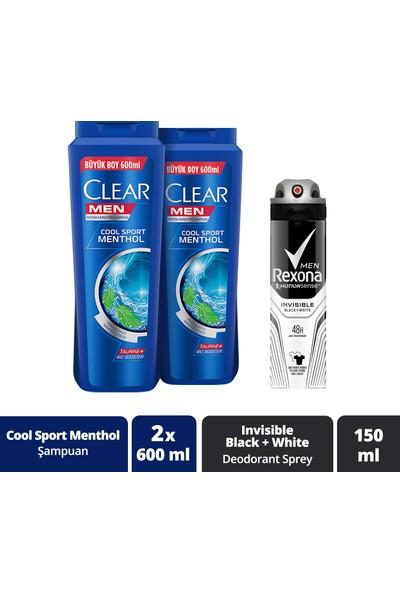 Clear & Rexona Men Erkek Bakım Paketi