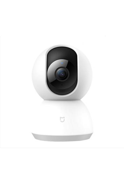 Xiaomi Mijia Smart Home 360 Derece Dönebilen Kablosuz Gece Görüşlü Ip Kamera HD 1080P (Yurt Dışından)