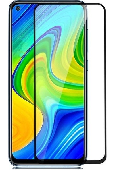 Xiaomi Redmi Note 9 5d Mat Seramik Tam Kaplayan Ekran Koruyucu Cam