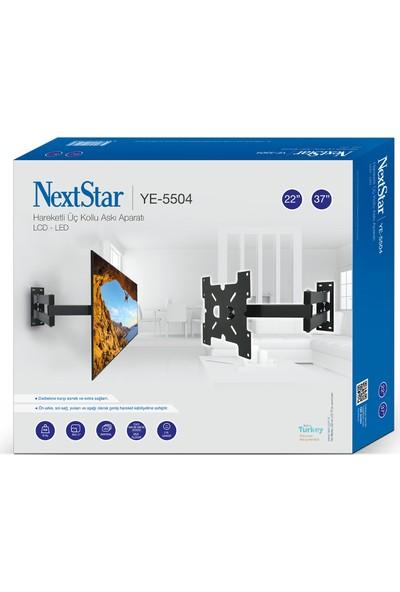 """Nextstar YE-5504 37"""" 94 Ekran Haraketli Tv Askı Aparatı"""